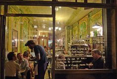Restaurant to try. Pierre Jancou's latest is beautiful...his last two spots, Racines/Passage des Panoramas and La Crémerie/ Rue Quatre Vents/6th are stunning.   This is on Rue des Petites Ecuries,the 10th, was an exotic bird shop, hints of which appear in the motif of the bright green Art Nouveau tiles which cover the walls.  It may be a new restaurant but you wouldn't know it with its charm and cool ambiance, it blends perfectly with the10th arrondissement.' Paraphrased from this blogger.