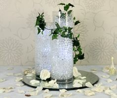 Buy a Cylinder Vase for your wedding at the Wedding Mall. We have an extensive range of glass vases and glass cylinder vases available in store. Glass Cylinder Vases, Glass Vase, Wedding Table Centerpieces, Table Decorations, Florist Supplies, Centre Pieces, Floral, Wedding Stuff, Wedding Ideas