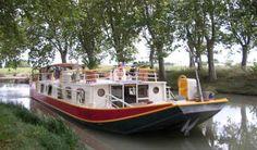 Péniche « La Baïsa » bed and breakfast #canal du Midi #France