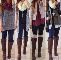 I. Love. These. OUTFITS!!! Can I please have them?! PLEASE!!!