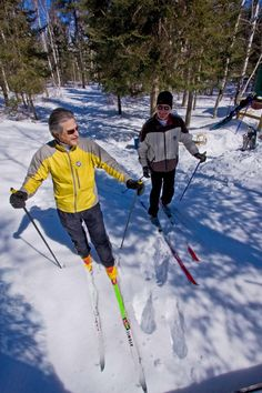Skiing in Windy Lake Provincial Park Ontario Parks, Winter Activities, Get Outside, Skiing, Ski