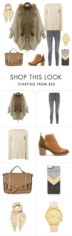 """""""Love the cardigan.."""" by hsheril ❤ liked on Polyvore featuring MiH Jeans, La Fée Maraboutée, Miista, Topshop, Zero Gravity, Isabel Marant and Komono"""