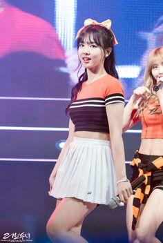 ©Love to me⎟Do not edit or remove logo. Kpop Girl Groups, Kpop Girls, Twice Jyp, Girl Sday, Im Nayeon, G Friend, Snsd, Girls Generation, Cheer Skirts