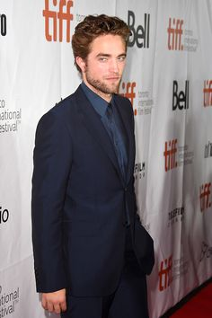 """robgoodness: """" Rob in Gucci at Maps to the Stars premiere at Toronto Internation Film Fest. """""""