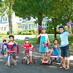 Fourth of July Parade Decorations: Wheely Cute!
