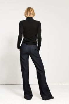 W2 Wide Leg Trouser | Zulu - 3x1 | 3x1 | Made Here