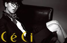 Super Junior's Yesung shares preview of photo shoot with 'CeCi'    http://www.allkpop.com/2013/02/super-juniors-yesung-shares-preview-of-photo-shoot-with-ceci