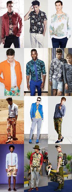 2f2070e3fb5 Men s Floral Print Lookbook Mens Printed Shirts