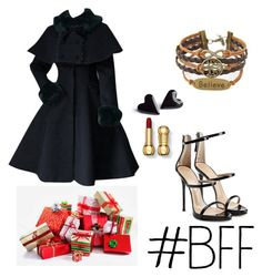 let's get some presents by ariatorva on Polyvore featuring polyvore fashion style Giuseppe Zanotti clothing