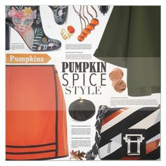 """""""Pumpkin Spice Style"""" by petrapoly ❤ liked on Polyvore featuring River Island, Camilla Elphick, Proenza Schouler, Allstate Floral, Anne Klein, Bobbi Brown Cosmetics, Diane Von Furstenberg, Dsquared2, polyvorecommunity and pumpkin"""