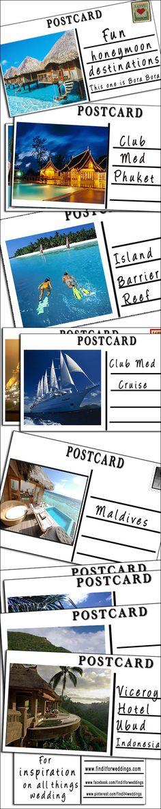 top honeymoon destinations best #honeymoon destinations www.finditforweddings.com