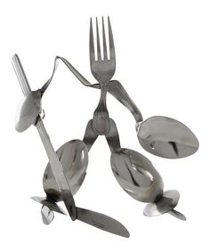 Look at this Forked Up Art Hockey Goalie Fork Figurine on #zulily today!