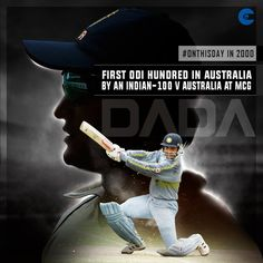 18 years ago, Sourav Ganguly Official became the Indian batsman to hit a ODI ton in Australia. Indian Cricket News, Latest Cricket News, Live Cricket, Cricket Match, Cricket Coaching, V Australia, More Fun, Desktop, Game