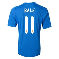 1d24f11419850 2013-2014 Real Madrid Adidas Away Football Shirt 11 Bale http   www