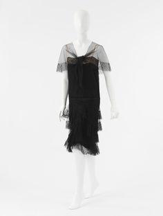 Coco Chanel evening ensemble ca. 1927-1928