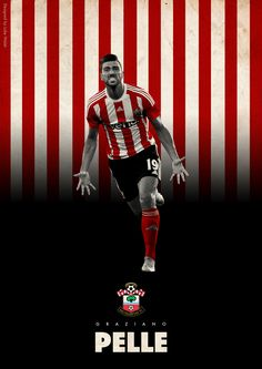 BPL Star Players 2015/16 on Behance - Graziano Pelle - Southampton
