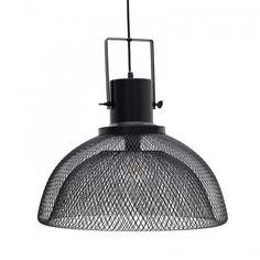 Μεταλλικό φωτιστικό οροφής #industrial αισθητικής σε μαύρο χρώμα. Decor, Loft Decor, Light, Ceiling, Pendant Light, Home Decor, Ceiling Lights