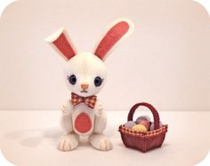 Easter Bunny PDF Pattern £6.00 By Patchlins