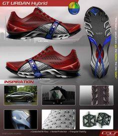 GT Cycling Footwear by Trevor Ford at Coroflot.com