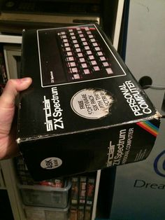 ZX Spectrum Home Computer, Computer Case, Gaming Computer, Computer Video Games, Retro Games, Old Computers, Up Game, Old Toys, Box Art