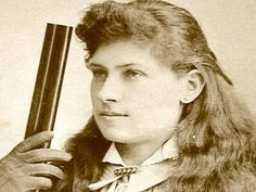 "Biography: Annie Oakley - Tomboy from BIO ""I ain't afraid to love a man & I ain't afraid to shoot him either"""