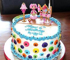 lalaloopsy birthday party | Lalaloopsy Birthday Cake And Cupcakes