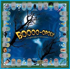Halloween Every Day: Halloween Board Games For Family Fun