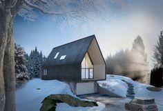 Villa Korsmo, by Huus og Heim Arkitektur #architecture