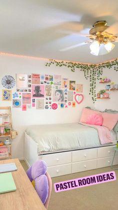 Pastel room ideas 💡