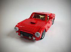 Ferrari 250 GT Berlinetta SWB #flickr #LEGO #car