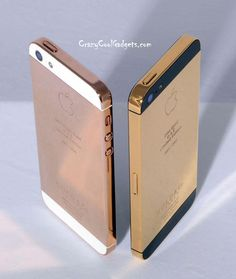 Cool iPhone 5 Gold Edition