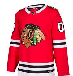 adidas Men s Chicago Blackhawks Authentic Pro Jersey Men - Sports Fan Shop  By Lids - Macy s 794ad3610