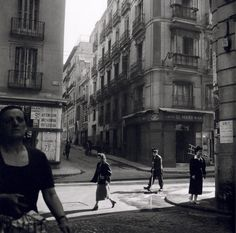Calle Arenal (1955) - Madrid (Spain)