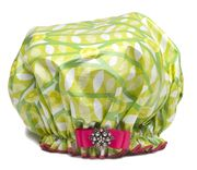 Dry Divas Shower Cap - SQUEEZE O' LIME Get your stocking stuffers NOW! http://bluegiraffeboutique.com/categories/accessories/shower-caps-spa-hair-bands.html