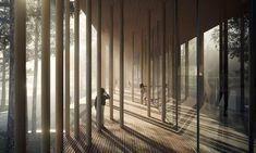 Súťažný návrh nórskeho múzea Finnskogens Hus | Archinfo.sk