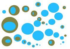 "Grafica di ele_r2001: ""Colori"" #eler2001 #pattern #thecolorsoup #colori #texture #colors #design #style #geometry #abstract #bolle #bubbles"