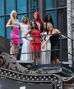 Trinity,summer rae,camron,natalia,the bella twins! :-)