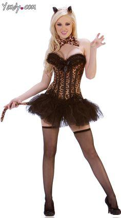 Deluxe Carousel Leopard Costume