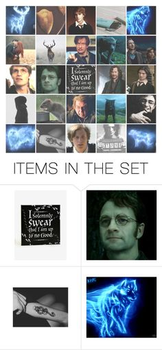 """The Marauders - Harry Potter"" by artemisinn ❤ liked on Polyvore featuring art"
