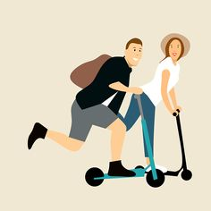What to look for in commuter scooters! Romantic Honeymoon Destinations, Honeymoon Spots, Best Honeymoon, Scooter Drawing, Scooter Storage, Big People, Kick Scooter, Happy Wife, Make A Donation