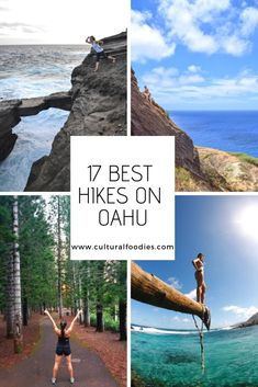 Here are 17 of my most favorite and popular hikes on Oahu, Hawaii! From ridge hikes to waterfalls, bamboo forests to rock bridges, Hawaii's hiking diversity is vast and beautiful. Oahu Vacation, Vacation Spots, Kauai Hiking, Hiking Trips, Places To Travel, Places To Go, Travel Destinations, Hawaii Hikes, Hawaii Adventures