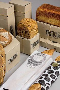 Una línea de empaques para posicionar el pan en la categoría de obsequio » Blog del Diseño