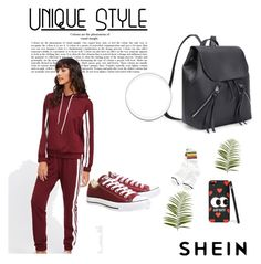 """Shein 37"" by zerina913 ❤ liked on Polyvore featuring Converse, Pier 1 Imports and shein"