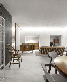 O quarto de hotel para Idéias Escritório, © Fernando Guerra - FG + SG