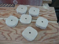 Make Your Own Knobs and Save / Fabriquez vos poignées et épargnez Make Your Own, Make It Yourself, How To Make, Diy, Woodworking Tools, Diy Welder, Template, Bricolage, Do It Yourself
