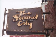 The Second City comedy club in Chicago, IL. My favorite place to go in Chicago. They are completely inappropriate...I love it.
