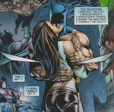 batman kisses talia al ghul