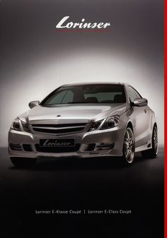 https://flic.kr/p/SxjL9w | Lorinser E-Klasse Coupé / E-Class Coupé (Mercedes-Benz); 2012_1
