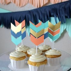 32 Ideas For Baby Shower Boy Theme Chevron Birthday Parties First Birthday Party Themes, Wild One Birthday Party, 1st Birthday Girls, Boy Birthday Parties, Birthday Ideas, Boy Baby Shower Themes, Baby Shower Fun, Arrow Baby Shower, Chevron Birthday