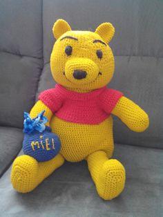 Amigurumis ours gontran lointain cousin d'une célébrité : Jeux, jouets par krysmesdoigtsdefee